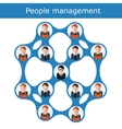People management concept vector image