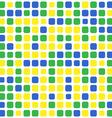 mosaic brazil background vector image