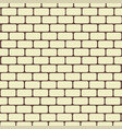seamless brick wall background architecture vector image