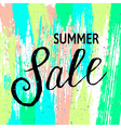 summer sale3 vector image