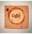 coffee concept design vector image