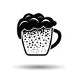 Mug of beer icon vector image