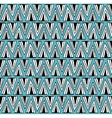 Scandinavian style pattern with doodle elements vector image