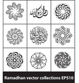 Ramadhan collections 02 vector image