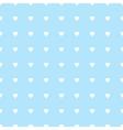 Seamless retro pattern hearts vector image vector image