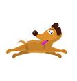 cute little dog vector image