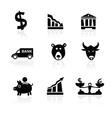 Banking icons hand drawn part 1 vector image