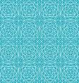 blue diamond seamless pattern vector image