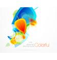 colorful seasons vector image