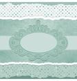 Vintage Polka dots Elegant Card vector image vector image
