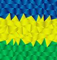 triangular brazil background vector image