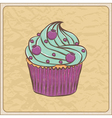 cupcakes11 vector image vector image