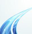 Bright swoosh speed rapid line folder design vector image vector image