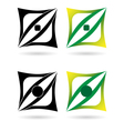 design elements or logotypes vector image vector image