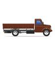 cargo truck 01 vector image