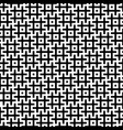 black and white hashtags seamless pattern vector image