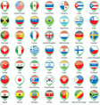 International Flags Pointer vector image