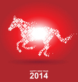 Year of the horse Chinese New Year vector image vector image