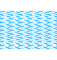 Summer seamless wave pattern isolated on blue vector image