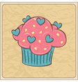 cupcakes12 vector image vector image