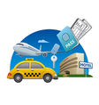 travel service vector image