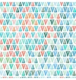 Seamless drawing triangle pattern vector image
