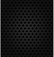 Abstract metal dark background vector image vector image