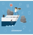 Leadership and Management Concept vector image