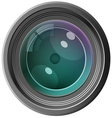 camera lens1 01 vector image