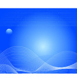 card design template vector image