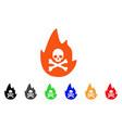hellfire icon vector image