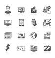 Seo Internet Marketing Icon vector image vector image