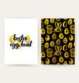 easter egg hunt trendy posters vector image