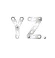 Y and Z vector image