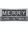 home for Christmas vector image