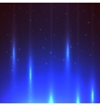 Star night background vector image