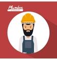 construction professional design vector image