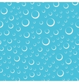 Air bubbles in water seamless pattern vector image