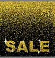 christmas shopping sale design template vector image