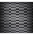 Chrome metal grid vector image
