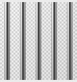 realistic metal prison bars jailhouse grid vector image