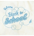 Back to School Calligraphic Design EPS 10 vector image