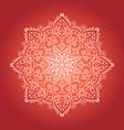 Ethnic Psychodelic Fractal Mandala Meditation vector image