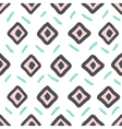 Hand Drawn tribal ethnic pattern in mexican style vector image