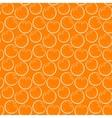 Seamless orange vector image