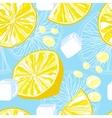 Seamless texture of lemonade vector image vector image