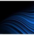 Abstract background with blue flow EPS 10 vector image