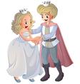 Cartoon Prince Princess vector image