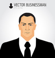 Angry businessman - vector image