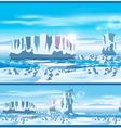 Arctic ice vector image
